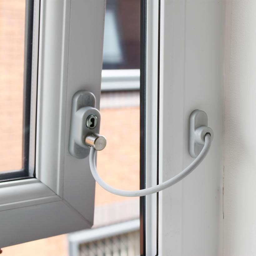 Child safety locks restrictors ambassador window repairs for Locks for french doors that open out